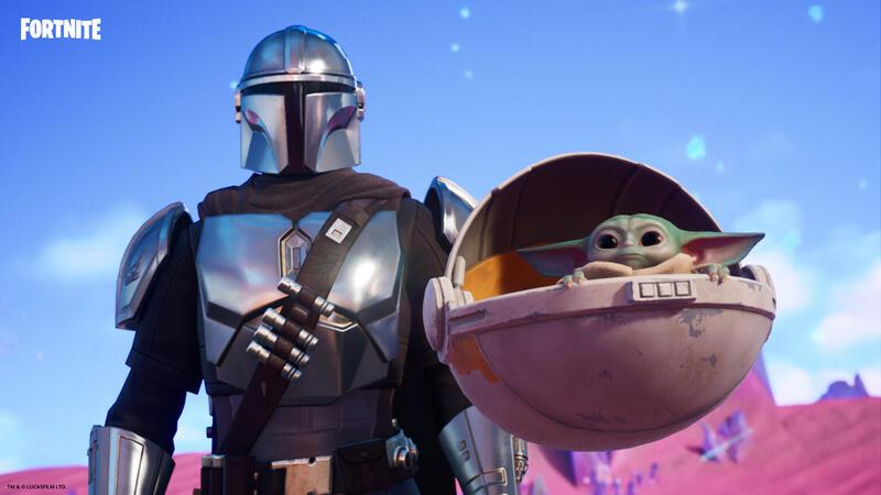 В Fortnite будет больше контента из Star Wars