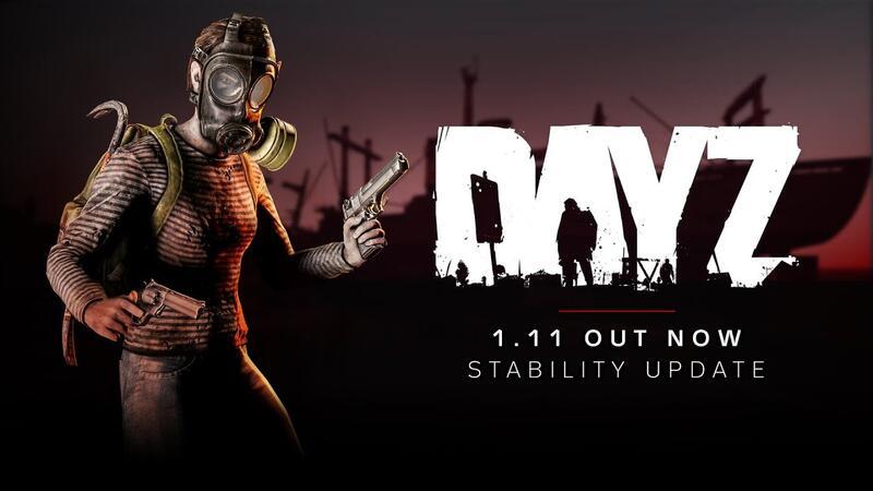 В обновлении DayZ 1.11 существенно улучшена стабильность