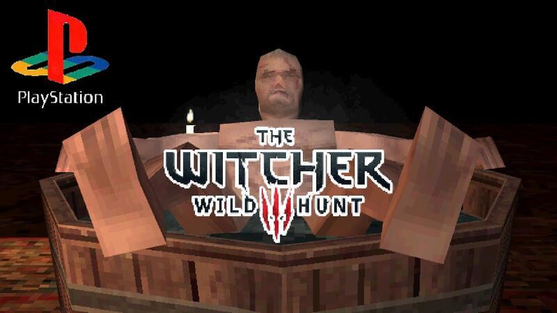 Вот как бы мог выглядеть Ведьмак 3 на PS1