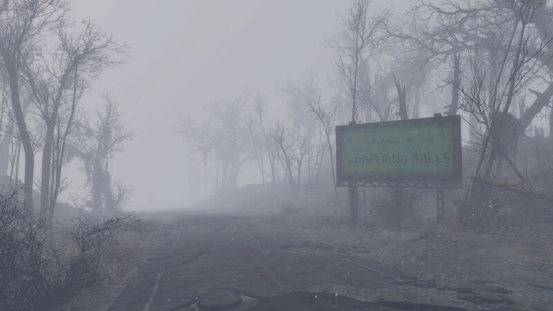Whispering Hills - мод Silent Hill для Fallout 4