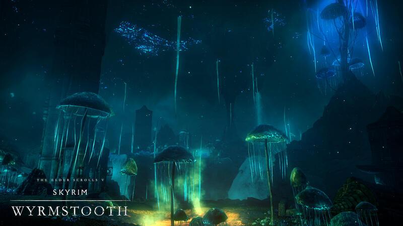 Wyrmstooth - новый мод для Skyrim Special Edition размером полноценного DLC
