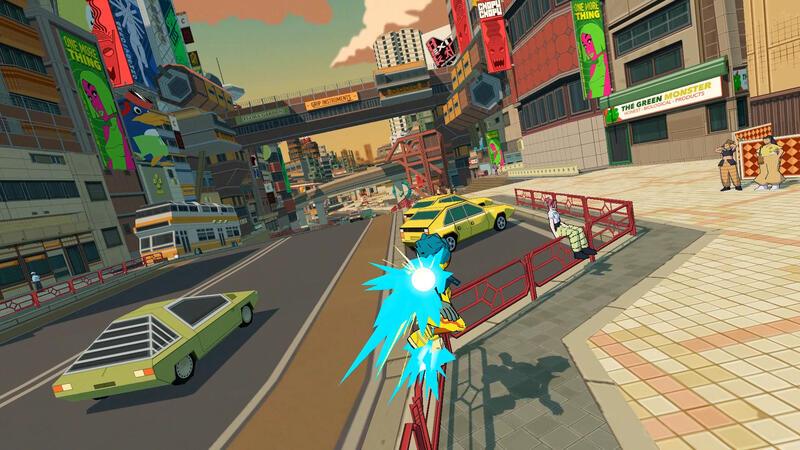 Bomb Rush Cyberfunk - новая игра вдохновленная Jet Set Radio