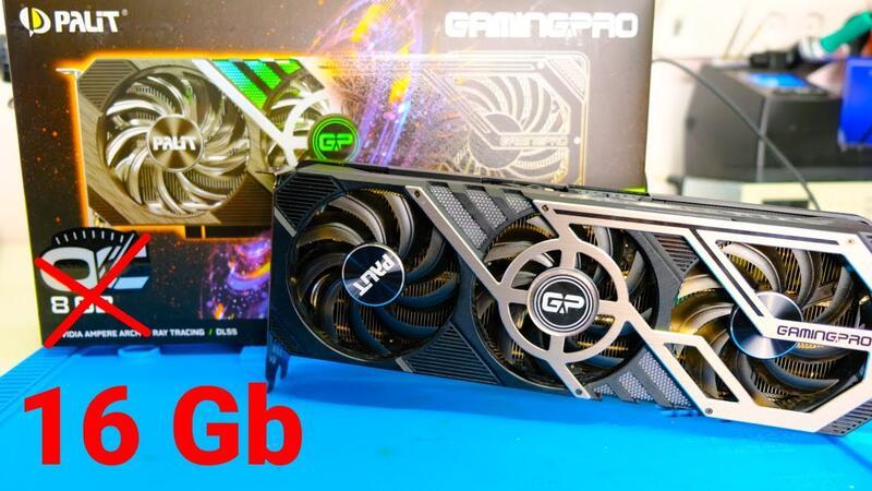 Энтузиаст увеличил видеопамять NVIDIA GeForce RTX 3070 до 16 ГБ