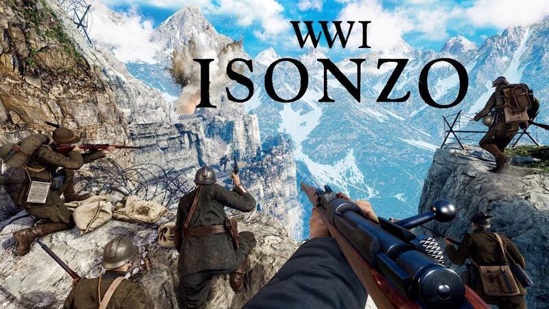 Isonzo - новый шутер от первого лица о Первой мировой войне