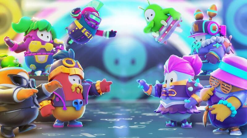 Режим Fall Guys Squads поможет слабым игрокам оставаться в игре