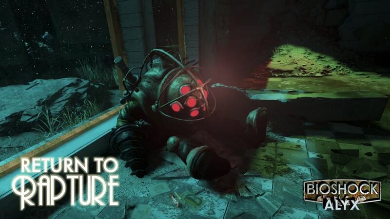 Удивительный мод Bioshock для Half-Life: Alyx доступен для загрузки