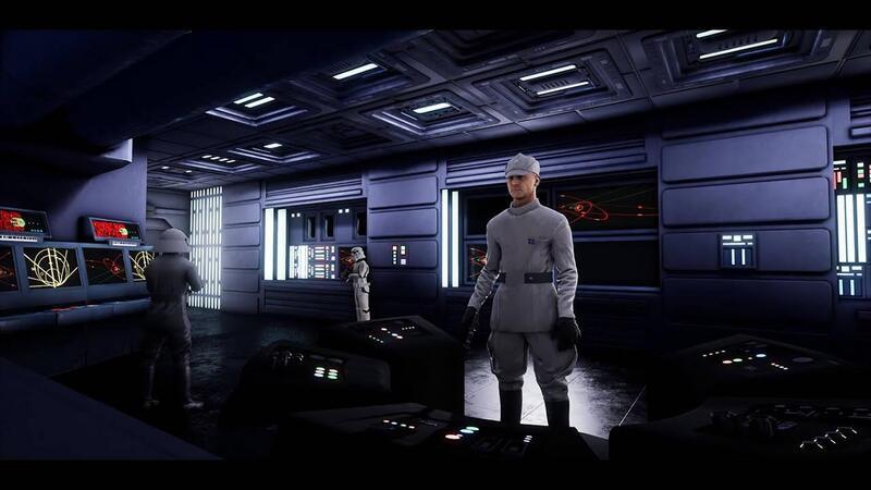 Видео прохождения Star Wars - Dark Forces Fan Remake созданного в Unreal Engine 4