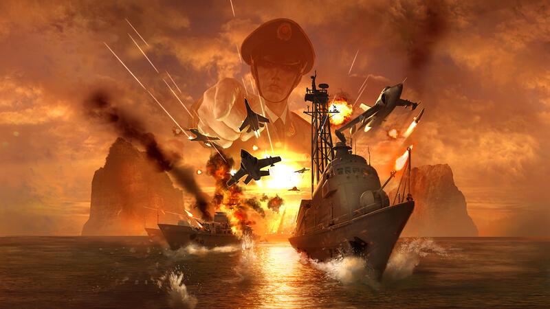 Wargame: Red Dragon можно приобрести бесплатно в Epic Games Store