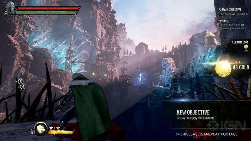 20 минутный ролик игрового процесса Dungeons & Dragons: Dark Alliance