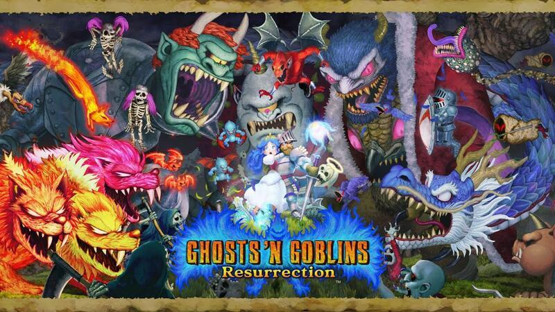 Ghosts 'n Goblins Resurrection официально выходит на ПК