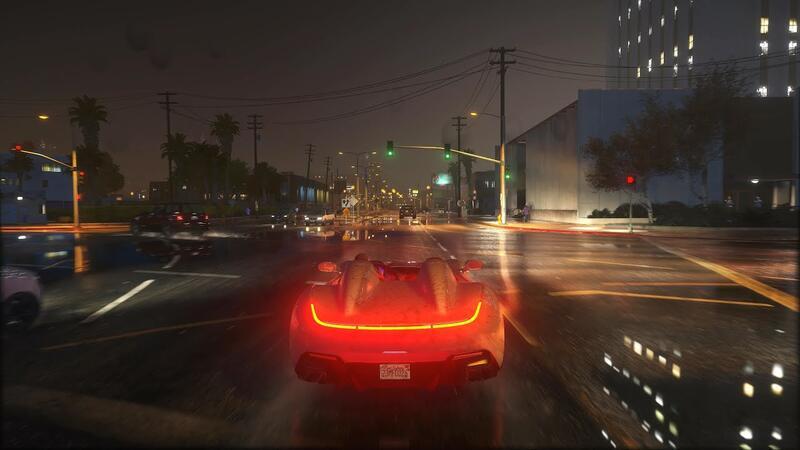 Grand Theft Auto 5 выглядит великолепно с этим модом 4K Ultimateц