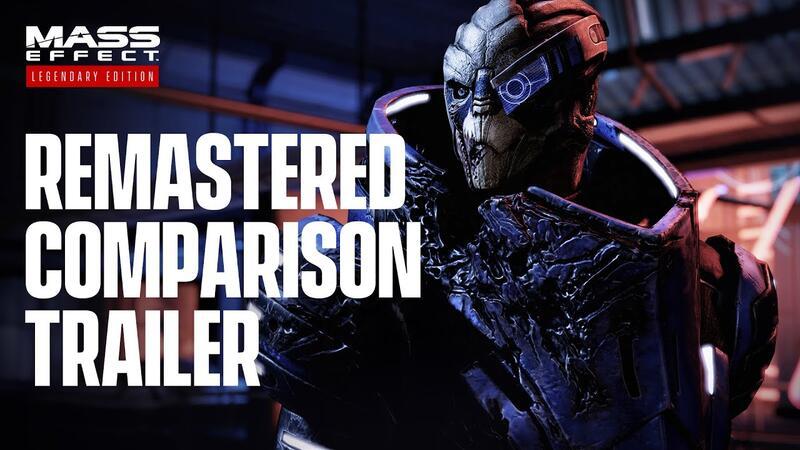 Официальное видео сравнения Mass Effect Legendary Edition с оригиналом