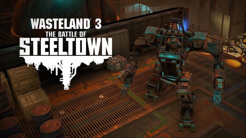Первое сюжетное дополнение Wasteland 3 выйдет в июне