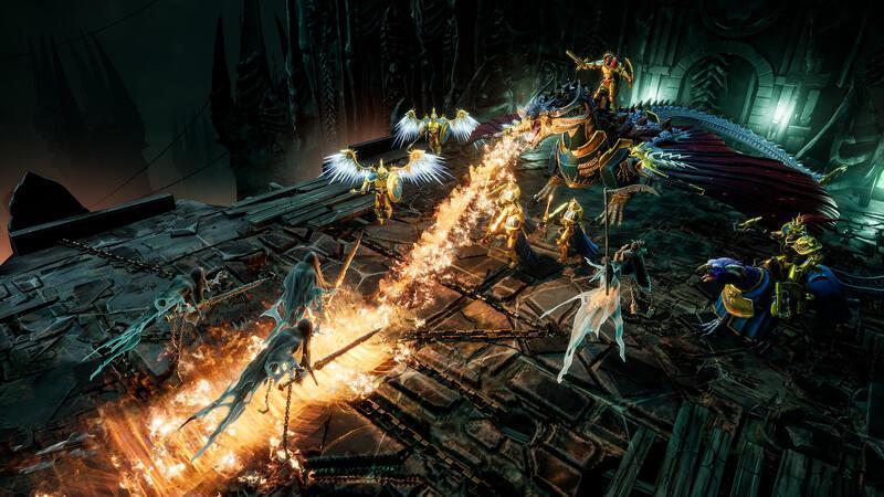 Стратегия Warhammer Age of Sigmar: Storm Ground получила трейлер с обзором игрового процесса