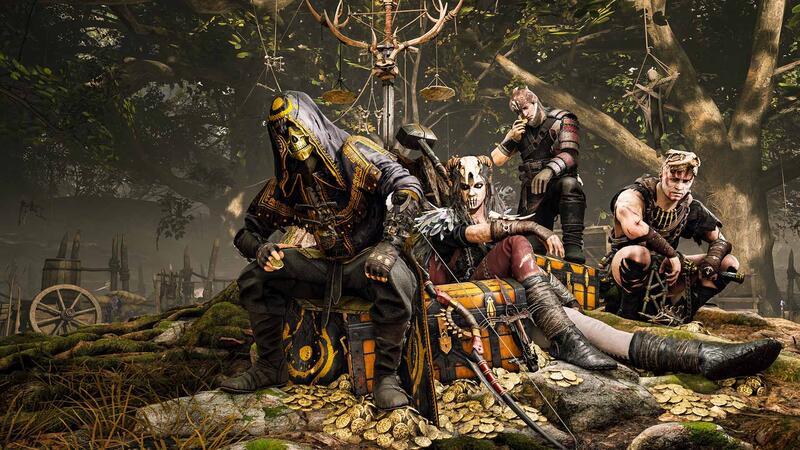 10 минут игрового процесса из Hood: Outlaws & Legends