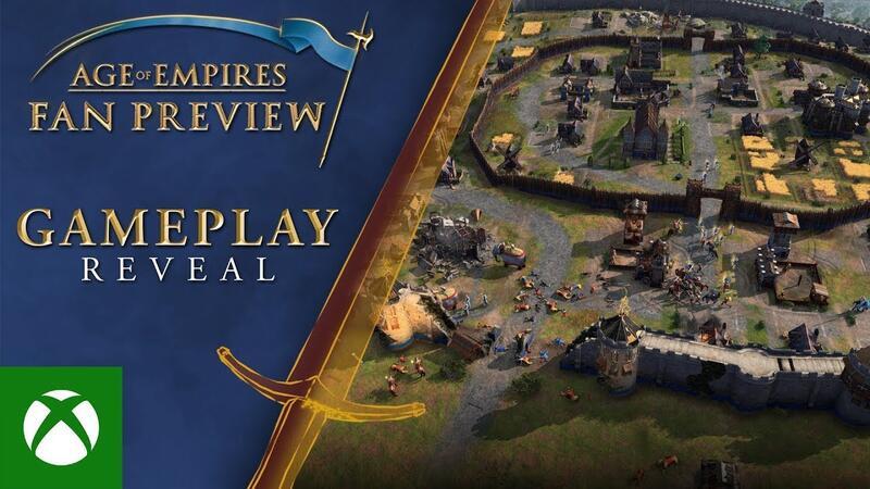 Вышел новый трейлер для Age of Empires 4