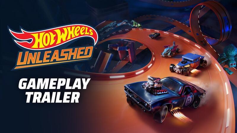 Вышел первый игровой трейлер Hot Wheels Unleashed