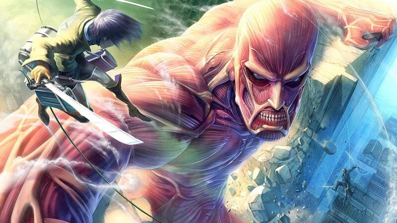 Attack on Titan PVP free fan game доступна для скачивания