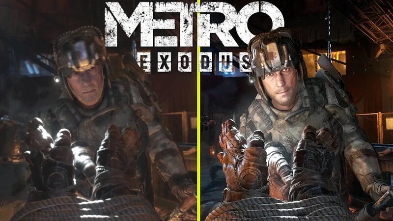 Metro Exodus - Сравнение трассировки лучей оригинального и расширенного изданий