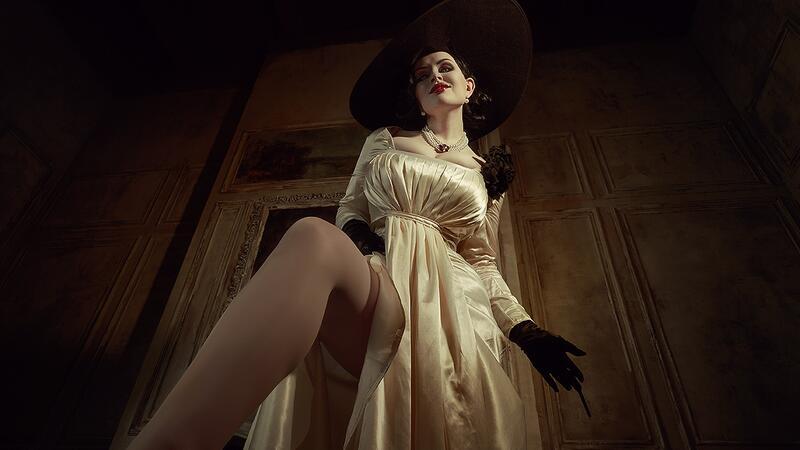 Мод обнаженной леди Димитреску для Resident Evil Village