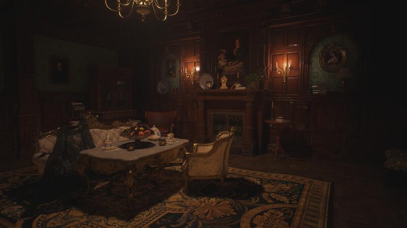 Несколько скриншотов Resident Evil Village Ray в 4K при максимальных настройках