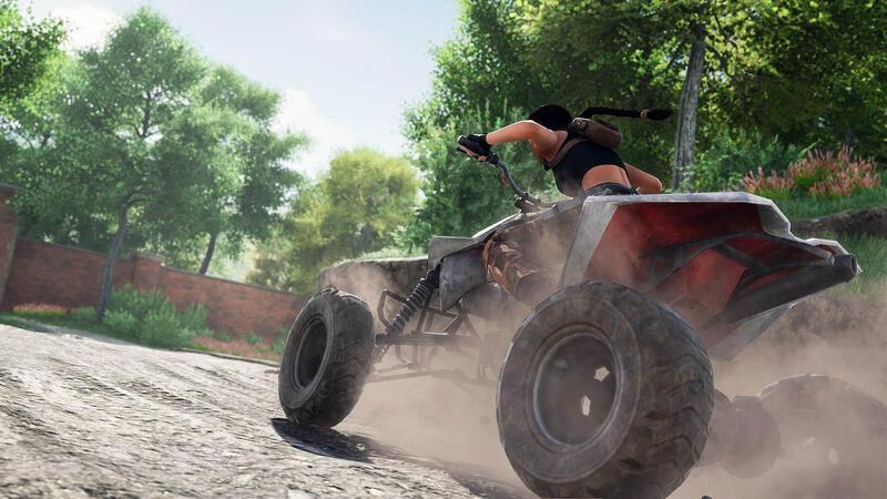 Новое видео Tomb Raider 2 Fan Remake показывает Лару за рулем квадроцикла