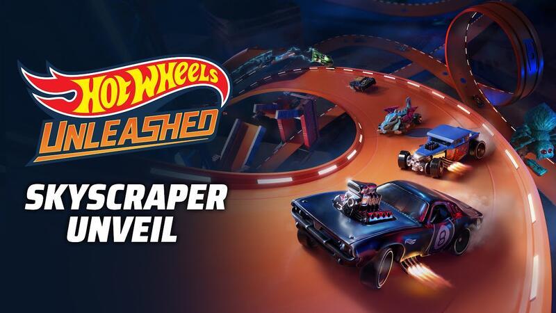 Новый трейлер геймплея Hot Wheels Unleashed