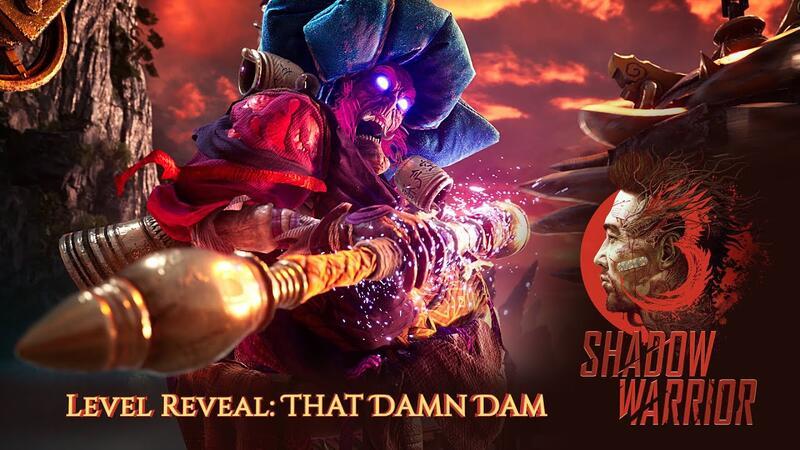 Новый трейлер Shadow Warrior 3 показывает миссию «Эта чертова плотина»