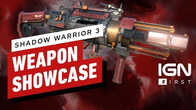 Очередной трейлер  Shadow Warrior 3 демонстрирует некоторые вооружения