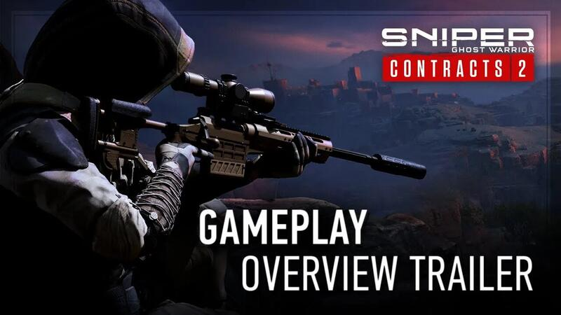 Опубликованы новый трейлер и системные требования дял Sniper Ghost Warrior Contracts 2
