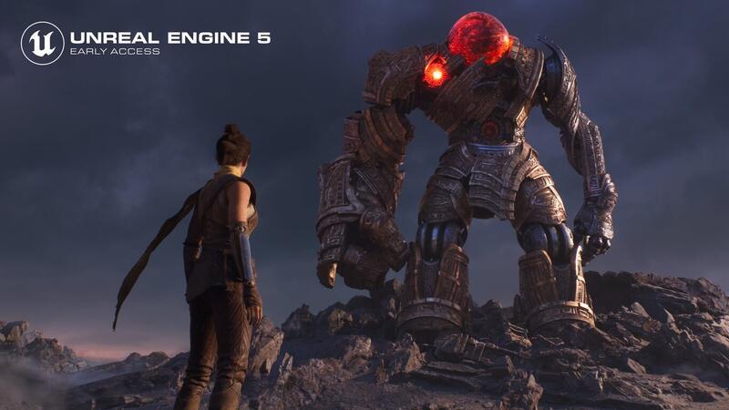 Unreal Engine 5 Early Access сьал доступен для загрузки