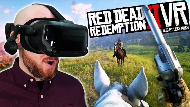 В Red Dead Redemption 2 теперь можно играть в VR