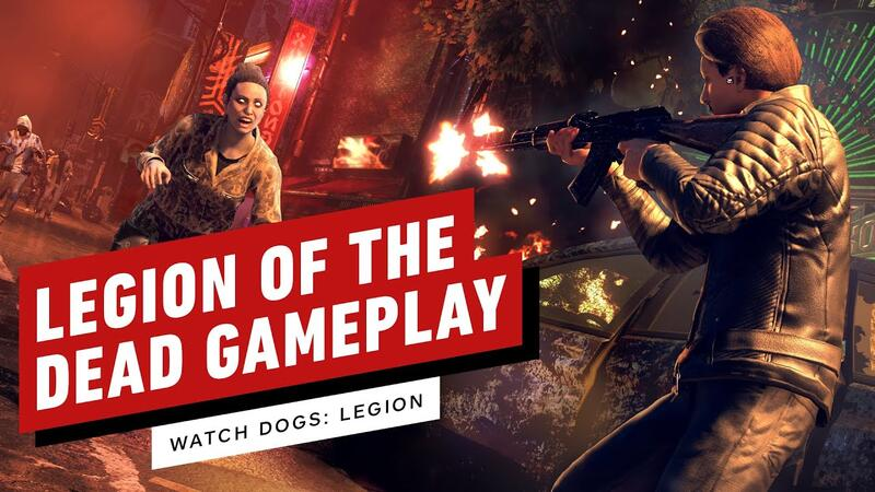 Видео игрового процесса из Watch Dogs: Legion of the Dead