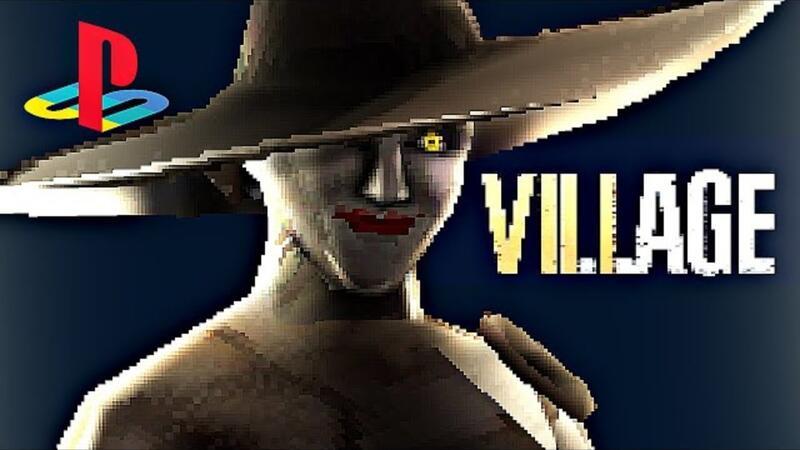 Вот как выглядела бы 32-битная Resident Evil Village