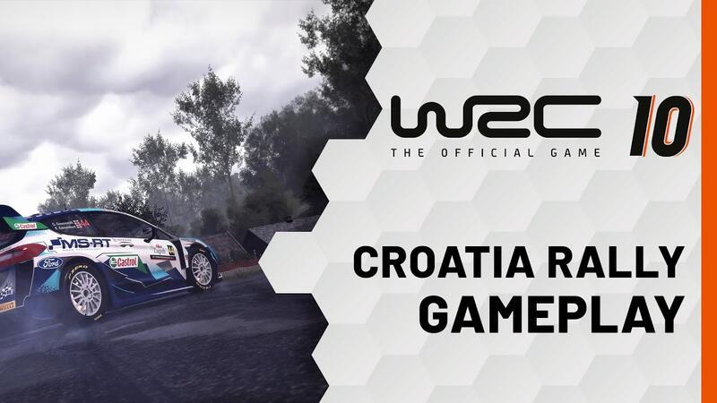 Вышел первый игровой трейлер для WRC 10