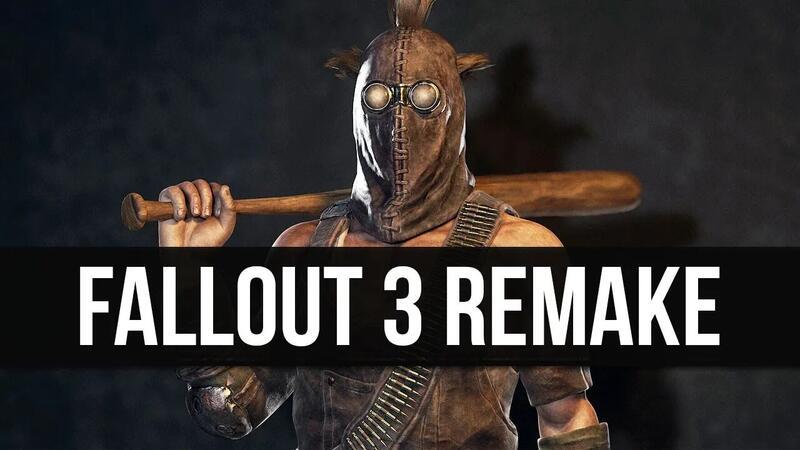 Fallout 3 на движке Fallout 4