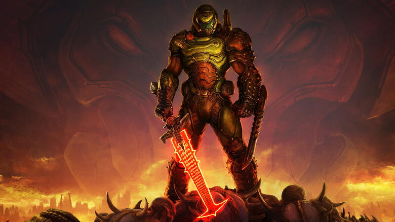Официальный анонс Doom Eternal RTX, первые кадры игрового процесса