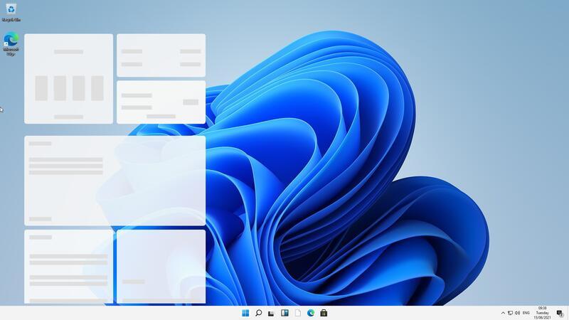 Первые скриншоты Windows 11