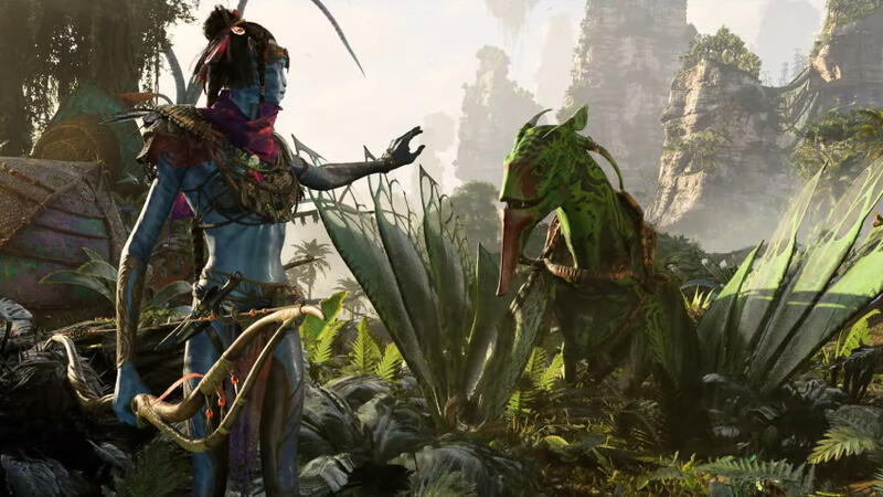Первый трейлер Avatar Frontiers of Pandora на движке Snowdrop Engine
