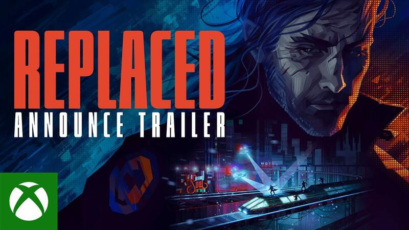 REPLACED - новый научно-фантастический ретро-футуристический платформер в жанре 2.5D