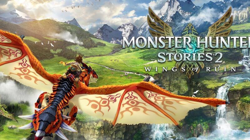 Новое видео игрового процесса Monster Hunter Stories 2 на ПК