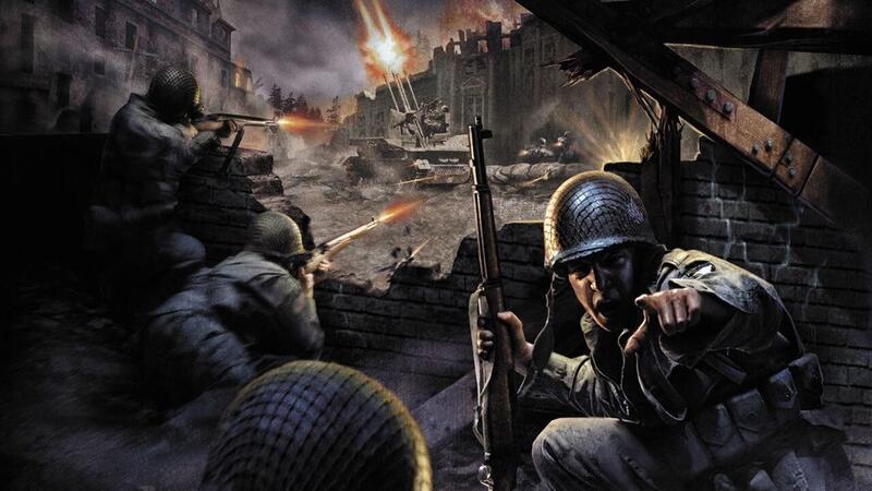 Для оригинальной Call of Duty выпущен мод с HD-текстурами улучшенными с помощью нейросетей