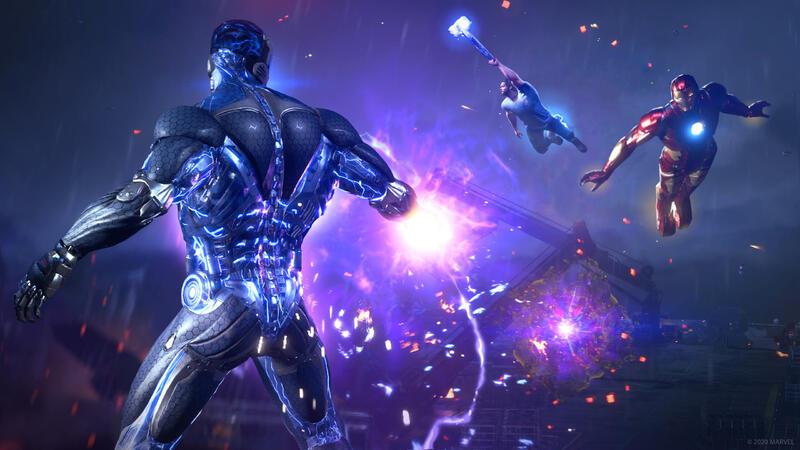 Marvel's Avengers - сравнение родного 4K, NVIDIA DLSS и AMD FSR