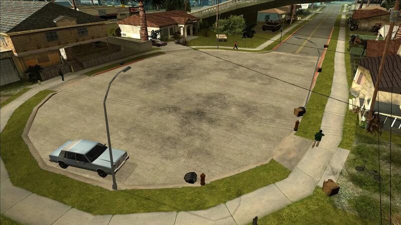 Новый мод для Grand Theft Auto San Andreas улучшает все текстуры игры