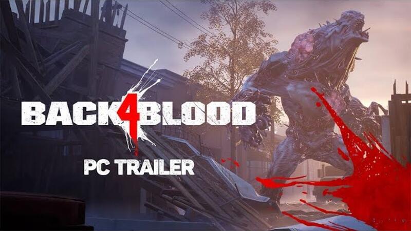 Новый трейлер Back 4 Blood освещает особенности игры на ПК