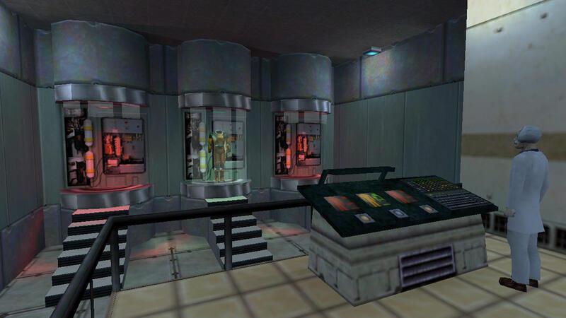 Ранние видеоролики о прототипах Half-Life, представленные разработчиками