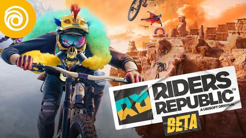 Бета-тест Riders Republic начинается 23 августа