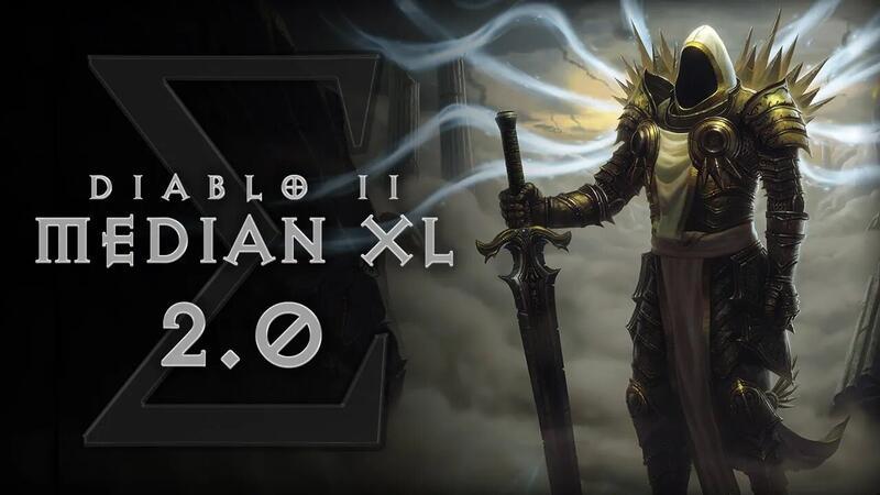 Diablo 2 Median XL V2.0 доступна для загрузки
