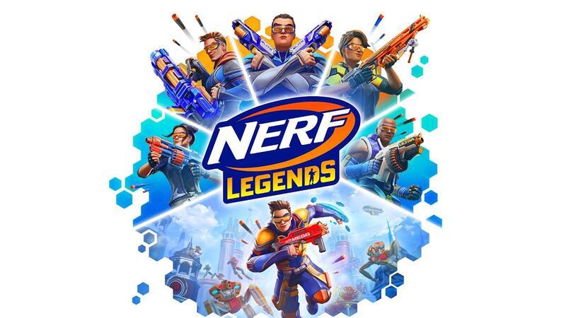 NERF Legends - новый динамичный шутер от первого лица, который выйдет на ПК уже в октябре 2021 года