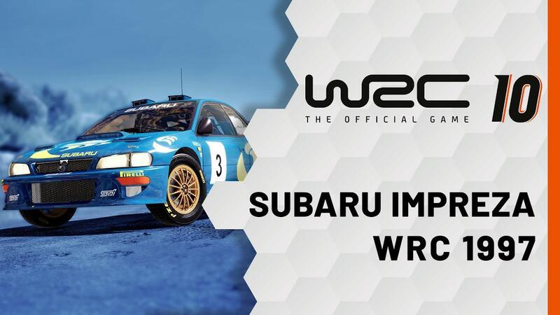 Новый игровой трейлер WRC 10 посвящен Subaru Impreza